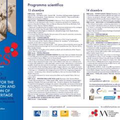 IX CONVEGNO INTERNAZIONALE DIAGNOSI, CONSERVAZIONE E VALORIZZAZIONE DEL PATRIMONIO CULTURALE